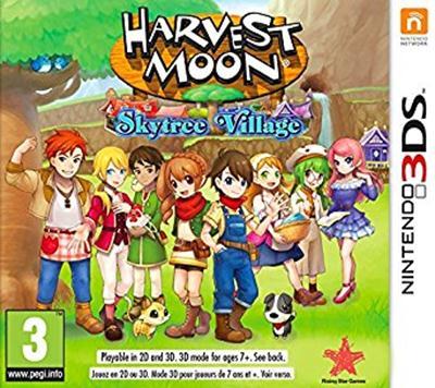 Harvest Moon Skytree Village (USA) (Region-Free) ROM 3DS CIA