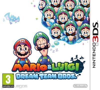 Mario and Luigi Dream Team (USA) (Multi3-Español) 3DS ROM
