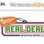Rusty's Real Deal Baseball (USA) (Multi3-Español) (eShop) 3DS ROM
