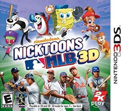 Nicktoons MLB 3D (USA) 3DS ROM CIA – Roms3ds CoM – Descarga