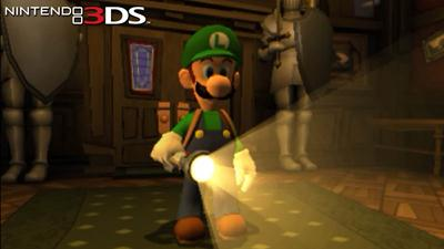 Luigi's Mansion Dark Moon (USA) (Region-Free) (Multi-Español) 3DS