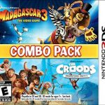 Combo Pack – Madagascar 3 & The Croods – Prehistoric Party! (EUR) (Region-Free) (Multi-Español) 3DS ROM CIA