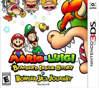 Mario & Luigi Bowser's Inside Story + Bowser Jr 's Journey (USA