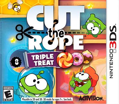 Cut the Rope – Triple Treat (EUR) (Multi-Español) 3DS ROM