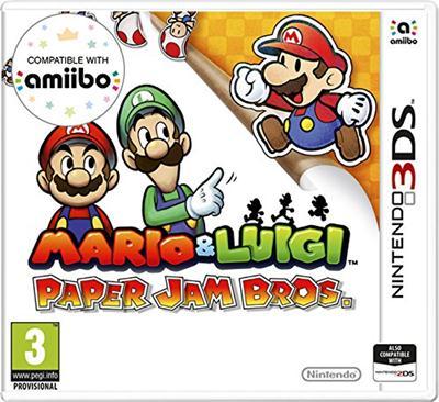 Mario & Luigi – Paper Jam (USA) (Multi-Español) 3DS ROM CIA