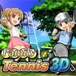 Family Tennis 3D (USA) (eShop) 3DS ROM CIA